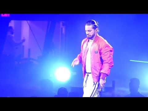 Maluma, GPS (feat. French Montana) - 2018 F.A.M.E. Tour (Agganis Arena - Boston, MA)
