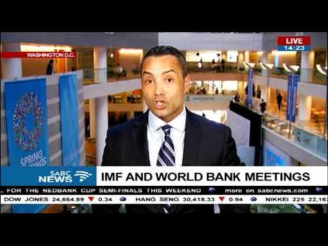 IMF/World Bank meeting gets underway - Sherwin Bryce Pease updates