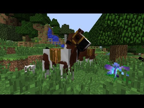 My Horse Ranch (Minecraft) project WIP - YouTube