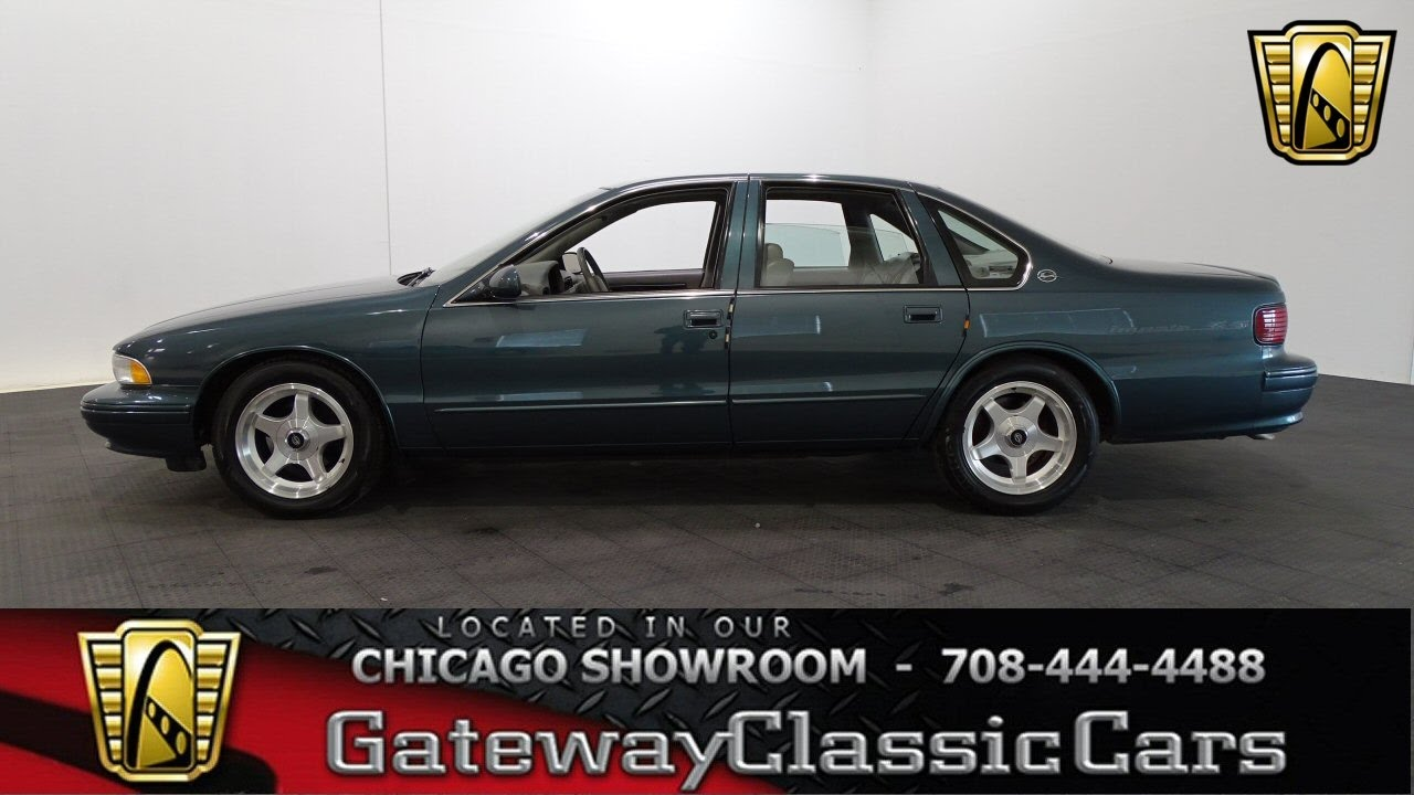 Impala 1996 chevy impala ss : 1996 Chevrolet Impala SS Gateway Classic Cars Chicago #1172 - YouTube