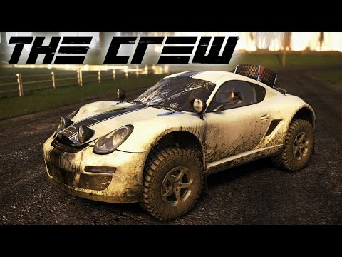 The Crew - Porsche Cayman 4x4 Off-Roading! Chase Through the Desert!