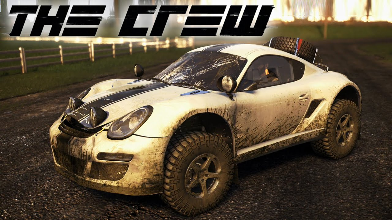 Monster Rally Car Wallpaper The Crew Porsche Cayman 4x4 Off Roading Chase Through