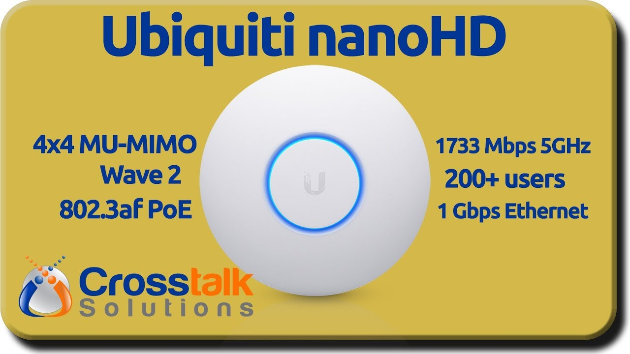 Ubiquiti nanoHD
