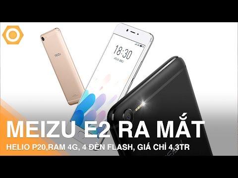 Meizu E2 trình làng - Ram 4G, 4 đèn Flash độc đáo giá hơn 4 triệu