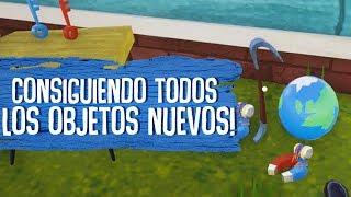 Video de HELLO NEIGHBOR : CONSIGUIENDO TODOS LOS OBJETOS NUEVOS!! ACTO 3 ( JUEGO COMPLETO )