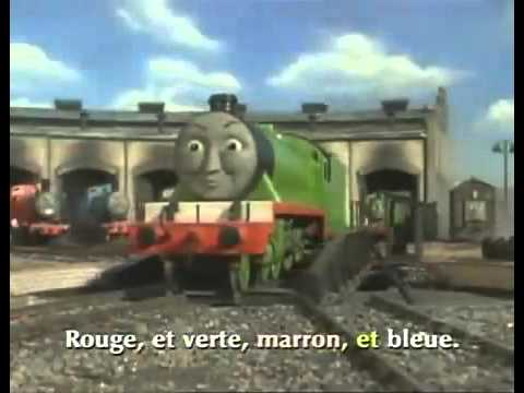 Thomas and Friends Theme Songin FRENCH!