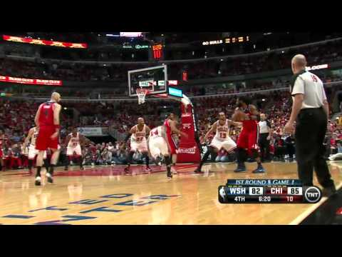 Washington Wizards vs Chicago Bulls Game 1 | April 20, 2014 | NBA Playoffs 2014