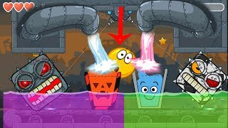 ( Halloween vs Classic ) Happy Glass Ball in RED BALL 4 with ( Soccer + Classic ) BOSS 'Box Factory'