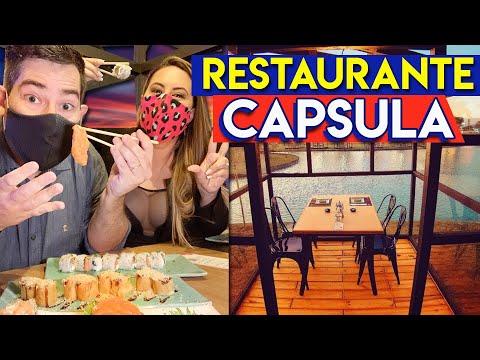 Restaurante Japonês dentro da Cápsula 🍣 O Novo Normal no Sushi das Artes