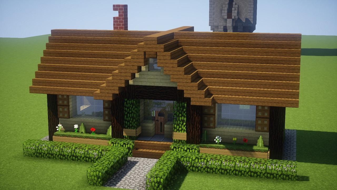 Minecraft Tutorial  CASA RSTICA 1  MANYA   YouTube