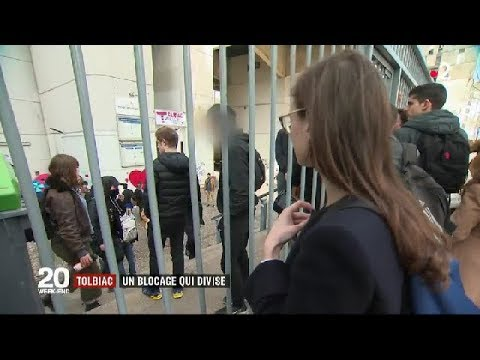 Fac de Tolbiac : un blocage qui divise / JT du vendredi 6 avril 2018