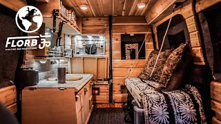 STEALTH VAN CONVERSION has Different SPACE SAVING Ideas