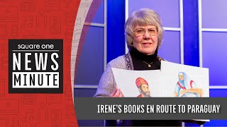 S1 News Minute | IRENE'S BOOKS EN ROUTE TO PARAGUAY (April 21, 2021)