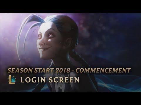 Season Start 2018 - Commencement | Login Screen - League of Legends