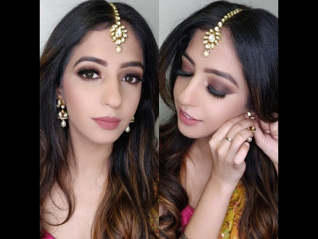 Diwali Makeup 2018| Brown Smokey Eyes
