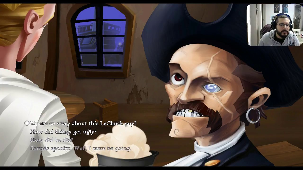the blue wizard project the secret of monkey island part 1 youtube