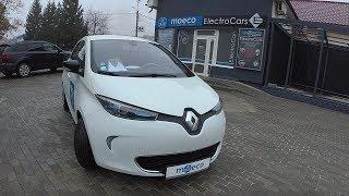 Renault ZOE Тест драйв Aвтосалон электромобилей Moeco в Ужгороде