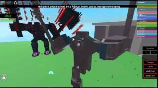 BYC(Build your cybersuit)Roblox Mech Battle(P1ZZ40 V.S Tronation)