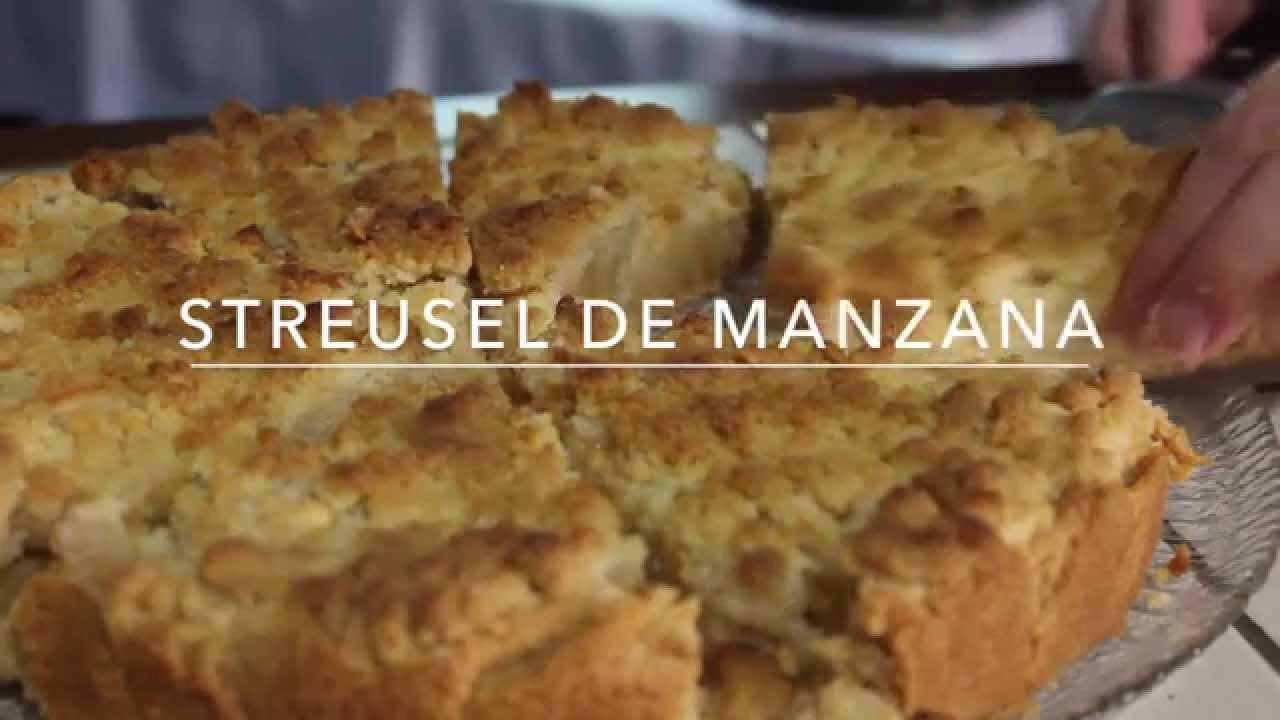 Kuchen Receta Streusel De Manzana Apfel Streusel Cloudlet