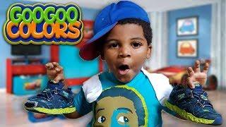 PUT ON YOUR SOCKS! GOO GOO GAGA CLOTHING SKIT FOR KIDS! thumbnail