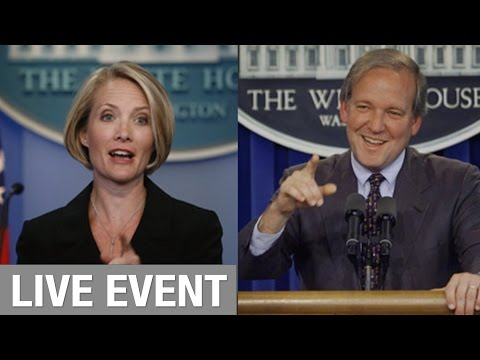 A conversation with former White House Press Secretaries Dana Perino and Mike McCurry