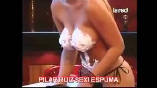 Así Somos:  Pilar Ruiz desfila con una ...