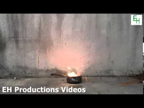 Burning Lithium in Water 2