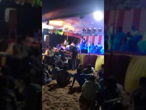 Chennai gana praveen sst nanbanuku kovila Kattu performance in nochikuppam