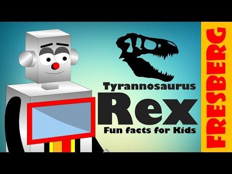 Learn about the Tyrannosaurus Rex (T-Rex) dinosaur. Tyrannosaurus Rex for kids (Fun Facts)