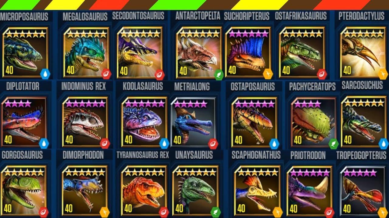 Khủng long bạo chúa chiến đấu Đặc biệt 2 | 22 Dino Level Max – Jurassic World The Game | DCTE