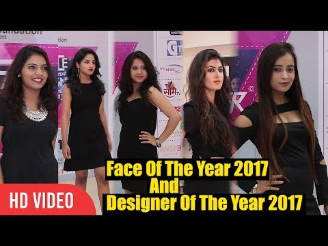 Models Walking the Ramp For Face Of The Year 2017 & Designer