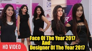 Models Walking the Ramp For Face Of The Year 2017 & Designer Of The Year 2017 | Zen Asia Foundation