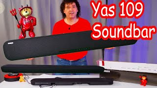 Yas 109 soundbar review with Virtual X from Yamaha sound test 2020