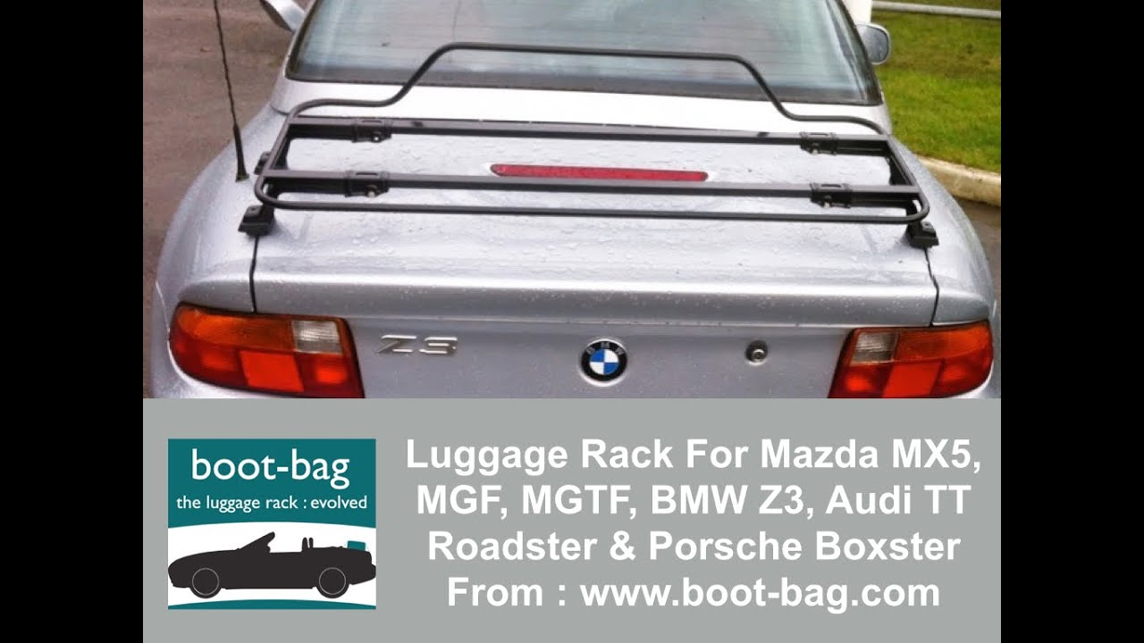Luggage Boot Rack For Mazda Mx5 Mgf Mgtf Bmw Z3 Audi