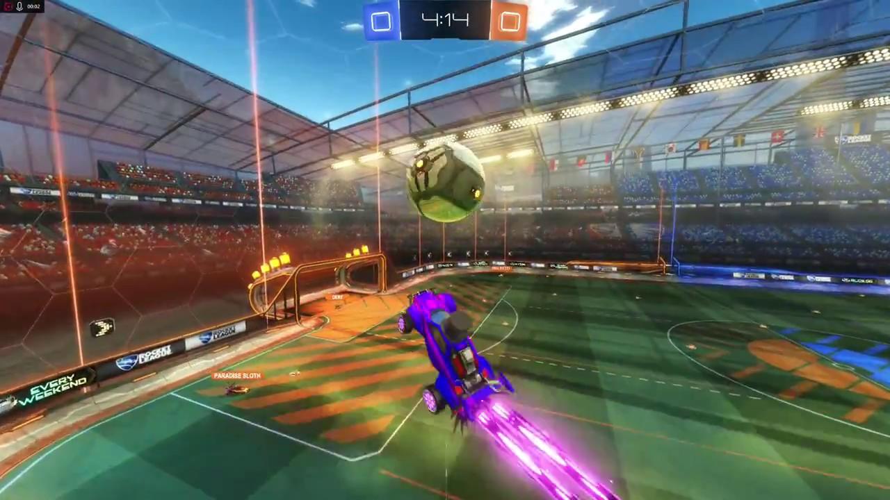 Rocket League Cool Goal