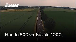 rhein racing honda cbr 600 rr vs suzuki 1000 gsxr