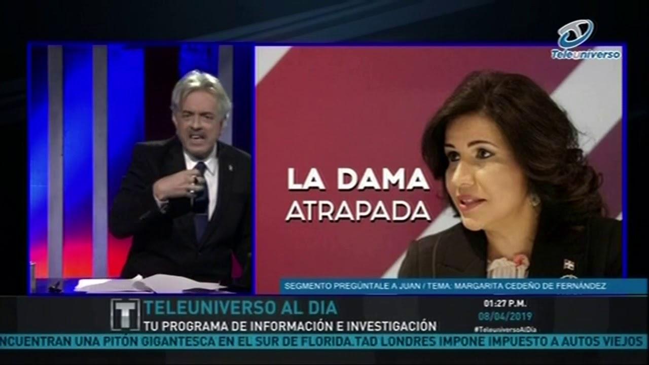 """Juan La Mur comenta sobre Margarita  """"La Dama Atrapada"""""""