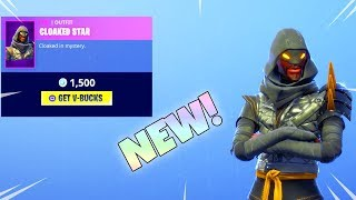 NEW STW SKIN IS HERE CLOAKED STAR (New Item Shop) Fortnite Battle Royale