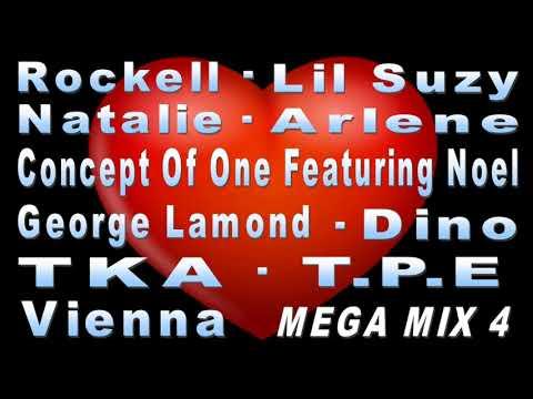 Freestyle Mega Mix4 - ROCKELL - LIL SUZY - NOEL - TKA - T.P.E.