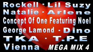 Freestyle Mega Mix4 - ROCKELL - LIL SUZY - NOEL - TKA - T.P.E. - (DJ Paul S)