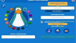 How to make a club penguin account