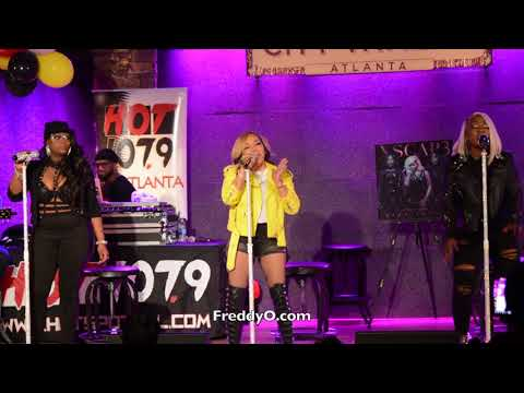 Xscap3 performs on The Rickey Smiley Morning Show