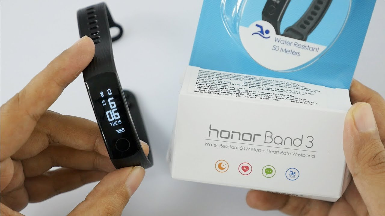 Honor Band 3 Review Budget Fitness Band Good Or Not Youtube