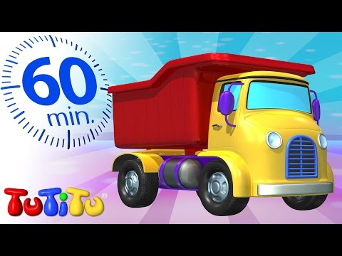 TuTiTu Specials | Truck toy | And Other Toys on Wheels | 1 HOUR Special