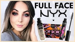 FULL FACE NYX 🖤🔥 One Brand Make Up Tutorial deutsch