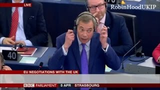 Nigel Farage says EU gangsters owe the UK billions