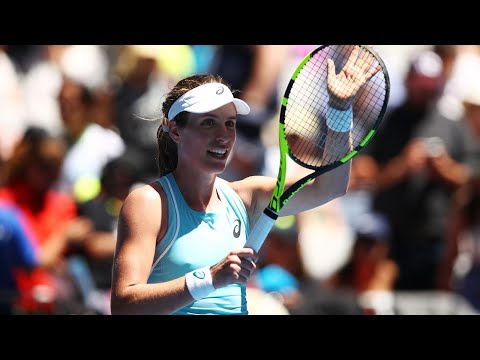 Jo Konta crushes Madison Brengle to race into second round