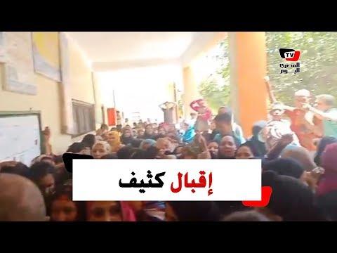 التعديلات الدستورية .. إقبال كثيف في لجنة نجوع الصوامعة بطهطا