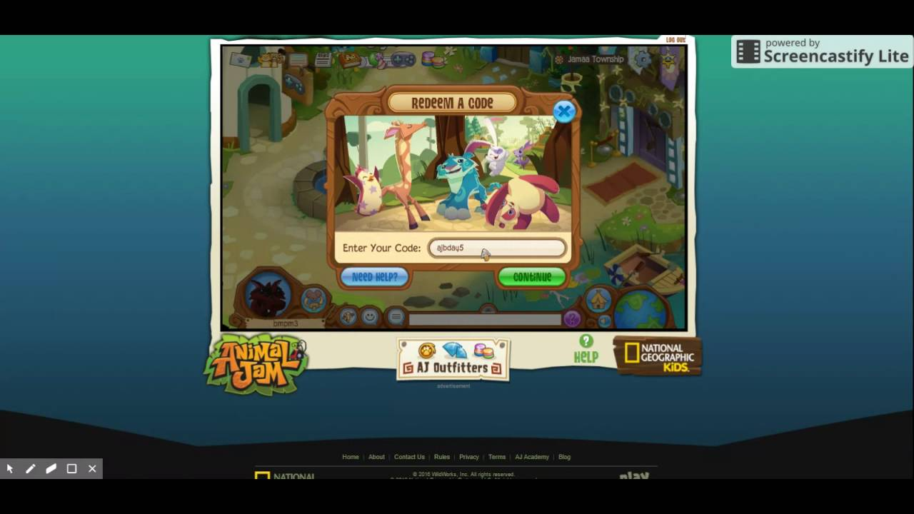 animal jam 5 codes gems and den item 2016 all working!
