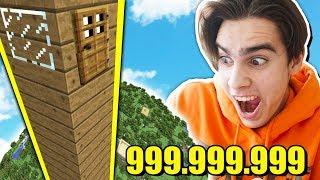 НУБИК ПОСТРОИЛ САМЫЙ ВЫСОКИЙ ДОМ 999.999.999 БЛОКОВ!